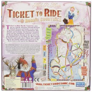 Ticket to Ride: Nordic Countries board game