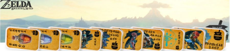 Legend of Zelda Breathe of the Wild tea tin set