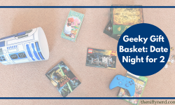 Geeky Gift Basket Idea -Date Night for 2