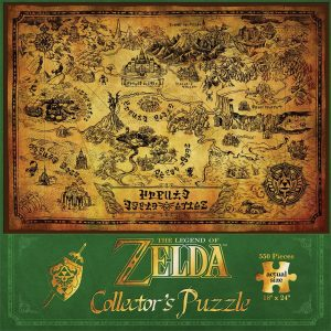 Legend of Zelda map puzzle