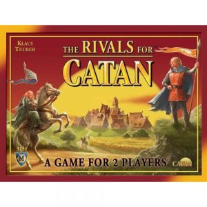The Rivals for Catan game for 2 players