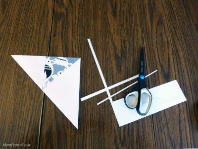 folder a paper snowflake