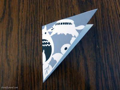 Totoro snowflake template