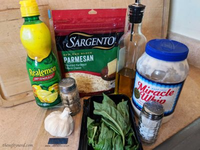 Pesto dipping sauce ingredients