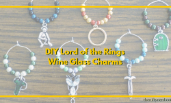 Lord of the Rings Wine Glass Charms