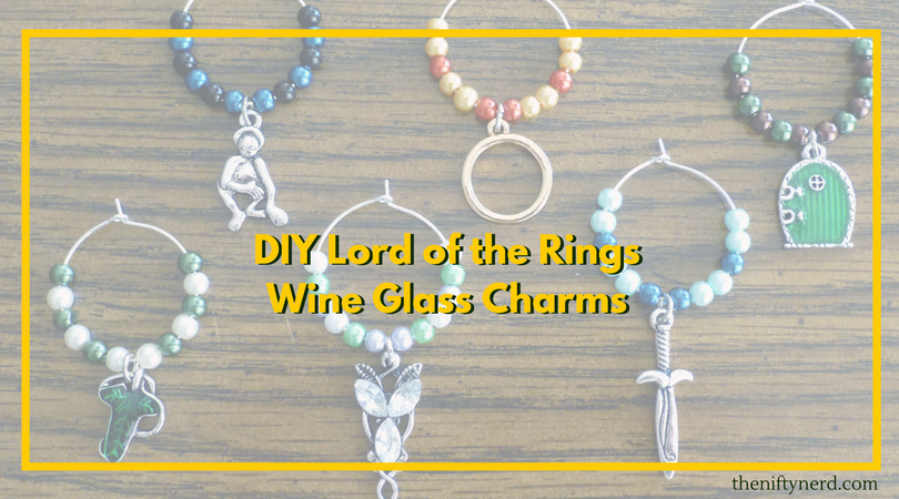 Geeky diy projects homemade nerdy craft ideas home diy projects lord of the rings wine glass charms solutioingenieria Gallery