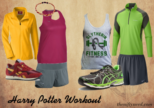 Harry Potter workout outfits