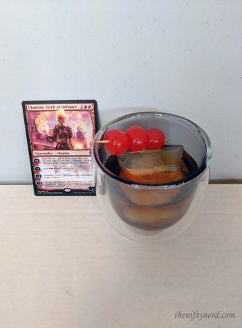 Chandra's Fireball Old Fashioned