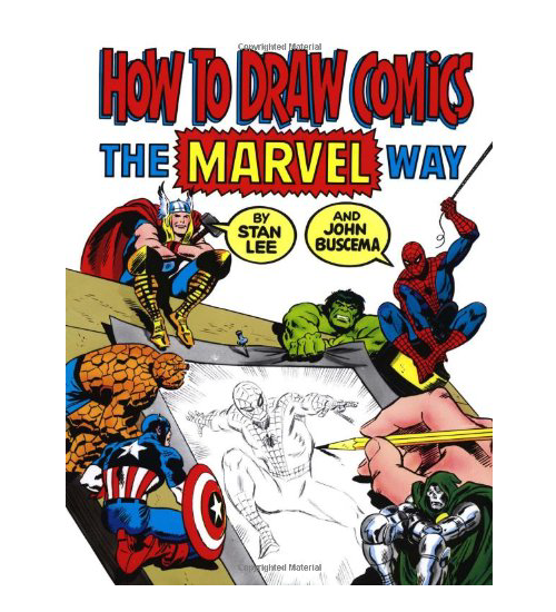 How to Draw Comics the Marvel Way book