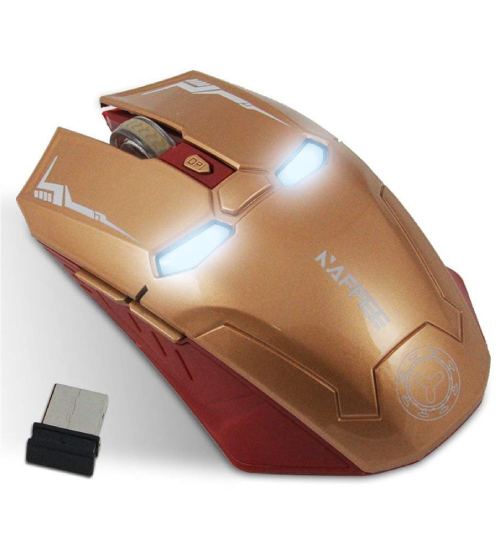 Ironman USB computer mouse