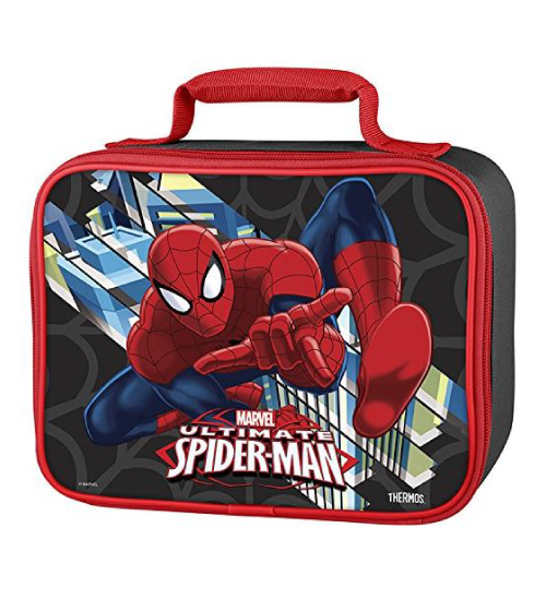 Marvel Spider-Man soft lunch bag