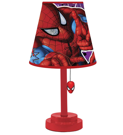 Spiderman table lamp
