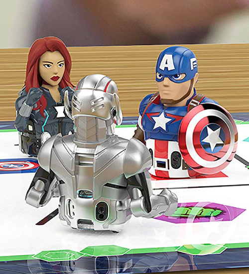 Marvel superhero Ozobot action skins