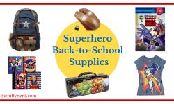 Superhero School Supplies