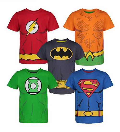 Justice League t-shirt set