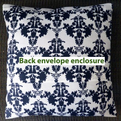 Nintendo damask throw pillow envelope case