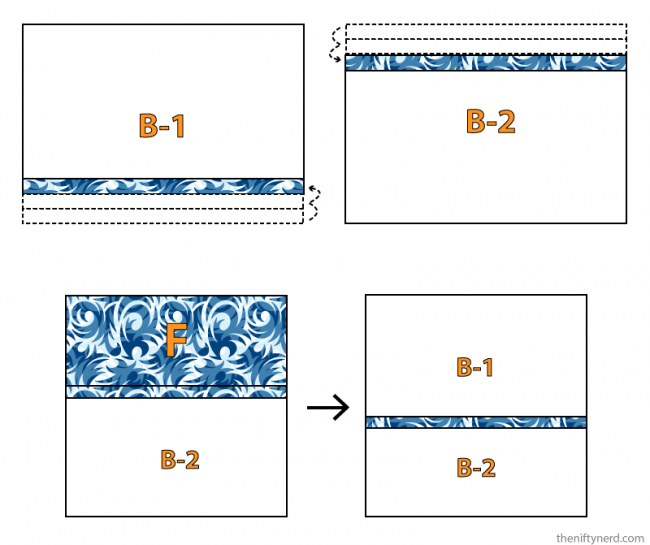 how to sew an envelope pillow case