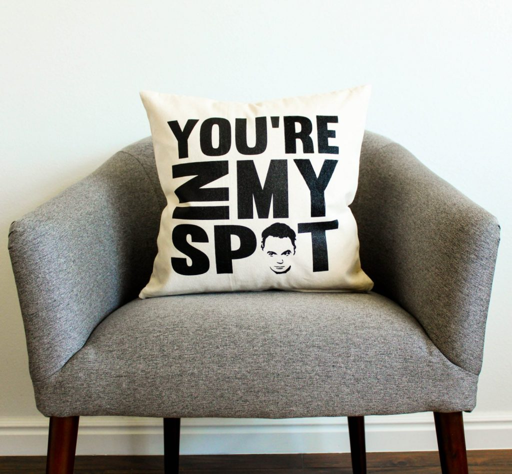 Big Bang Theory pillow
