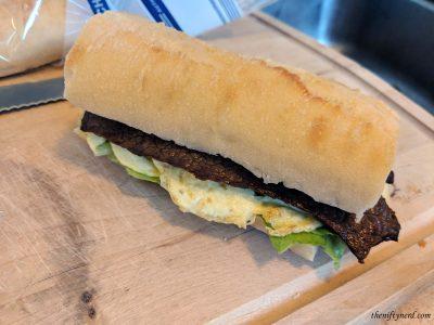 homemade version of Asuna's sandwich