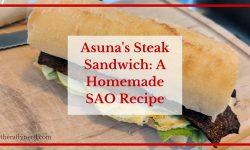 Asuna's Sandwich from Sword Art Online