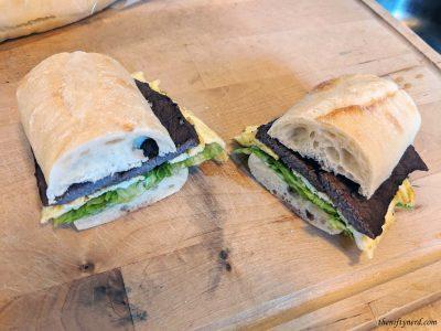 homemade version of Asuna's steak sandwich