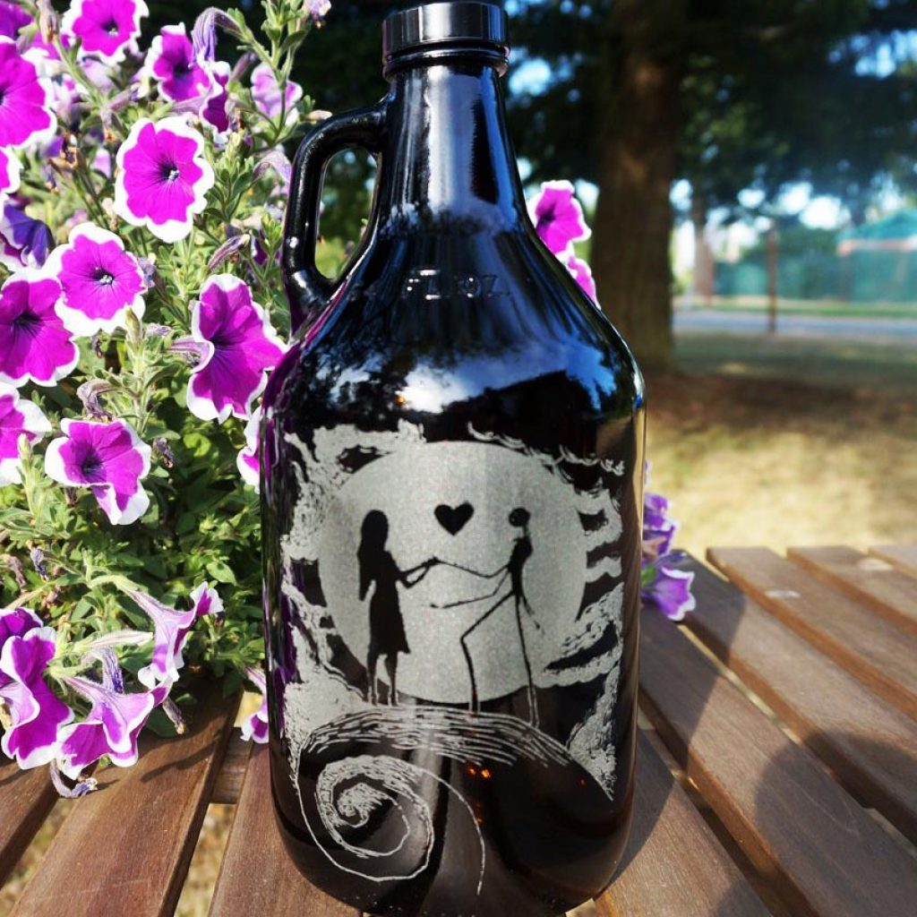 Nightmare Before Christmas growler