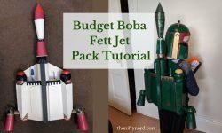 Budget Boba Fett Jet Pack Tutorial