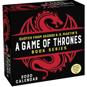 Game of Thrones daily calendar
