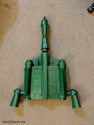 spray painted boba fett jet pack