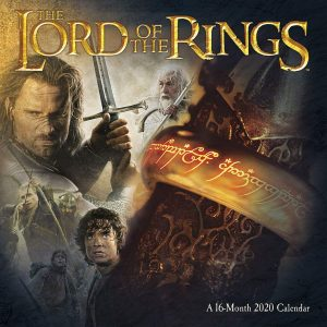 Lord of the Rings calendar