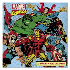 Marvel comics 2020 calendar
