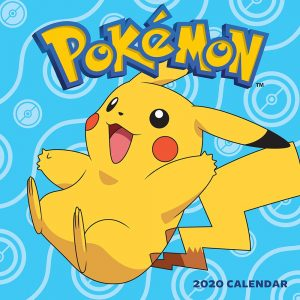 Pokemon 2020 calendar