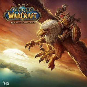 World of Warcraft wall calendar