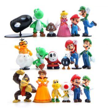 Super Mario action figures