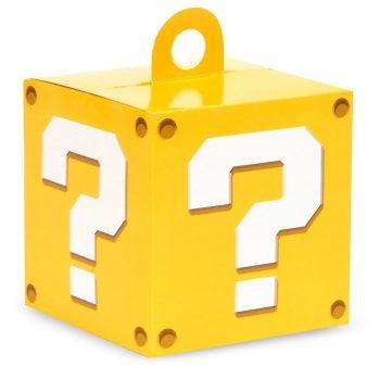 Mario ? mark block party favor box