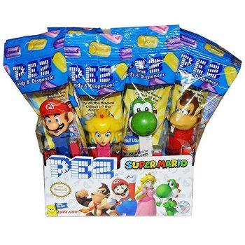 Super Mario character Pez dispensers